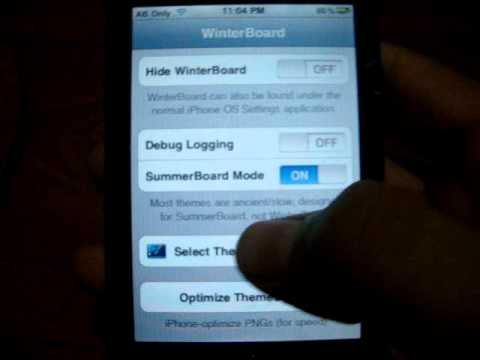How To Get Moving Themes On Ipod Touch or Iphone