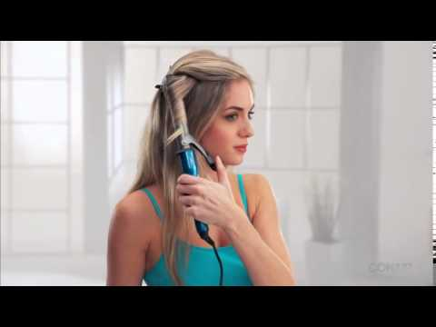 Conair® Curling Iron How-To