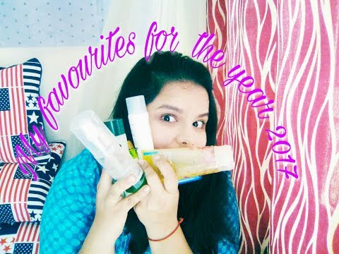 My favourites for the year 2017 | All about skin and makeup
