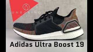 10690471490a Adidas Ultra Boost 19  Grey Six CoreBlack ShockYellow