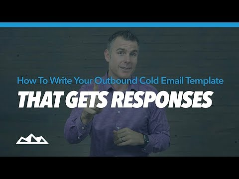 How To Write Your Outbound Cold Email Template That Gets Responses   Dan Martell