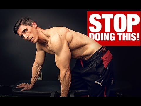 Stop Doing Dumbbell Rows Like This!