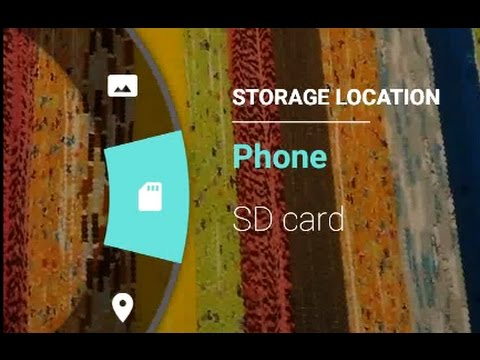 How to save new photos directly on your SD card for your Android Marshmallow tablet or phones