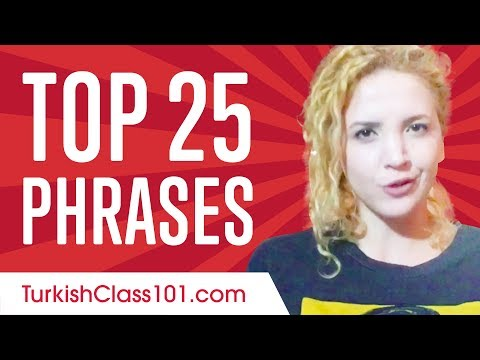 Learn the Top 25 Turkish Phrases