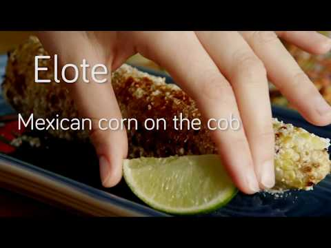 Elote - Mexican corn on the cob