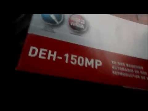 my new pioneer deh 150mp stereo