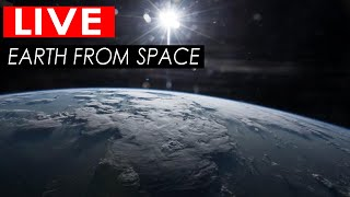 NASA Live Stream - Earth From Space | ISS LIVE FEED : ISS Tracker + Live Chat