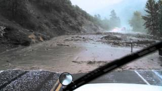 Hwy 12 mudslide live