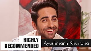 Highly Recommended: Ayushmann Khurrana