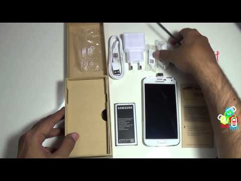 Samsung Galaxy S5 SM-G900H Unboxing,1st boot screen and hardware layout