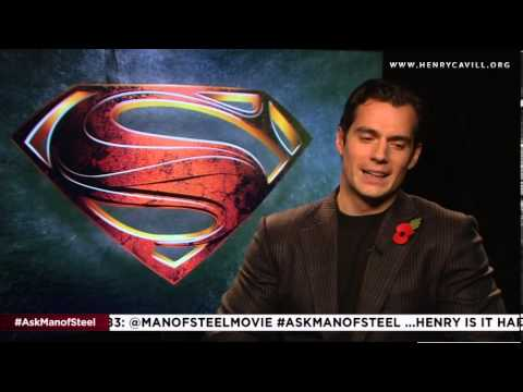 Henry Cavill describes his preparation for playing Superman in Man of Steel