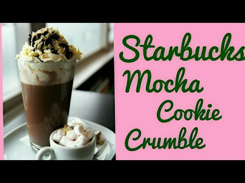 Starbucks Style Mocha Cookie Crumble Frappuccino at Home | Coffee Recipe in Hindi.
