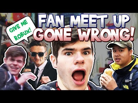 ROBLOX Fan Meet Up NYC! *GONE WRONG* - Linkmon99 IRL #12