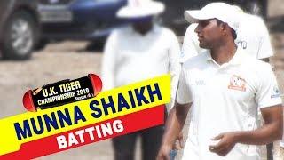 Munna Shaikh Batting  in UK Tiger Championship 2019, Ghatkopar, Mumbai