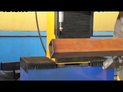 4 axis cnc square pipe cutting machine  www.pipingcutting.com