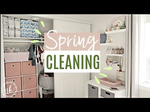 🌸SPRING CLEAN WITH ME! 🌸 | Home + Closet Organization | Natalie Bennett