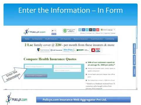 How to compare health insurance in india ?