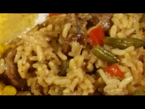 Savory Italian Sausage and Rice/ Spicy Italian Sausage Rice Meal