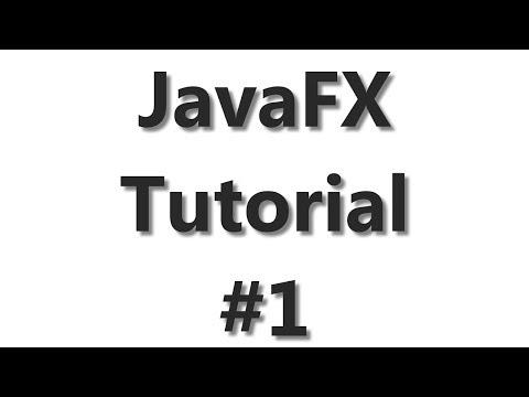JavaFX Tutorial #1 - First FX Application With Eclipse