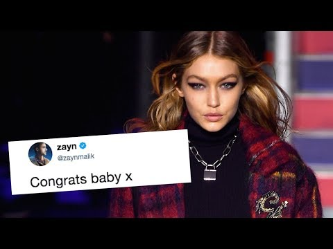 Zayn Shows Support for GF Gigi Hadid, Calls Her 'Baby'