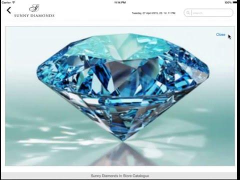App design for jewellery shop