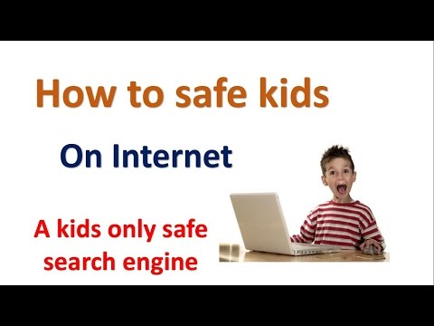 A kids only safe search engine | Internet safety for kids