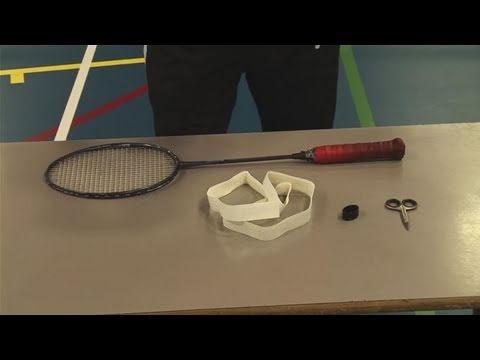 How To Firmly Grasp A Badminton Racquet