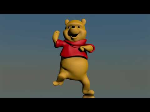 Winnie The Pooh 3D MEME Dancing Songs [OFFICIAL] (Gangnam Style REMIX)