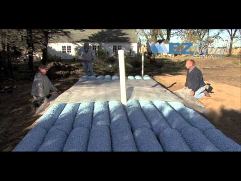 Septic Mound System Installation with EZflow by Infiltrator