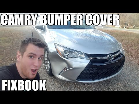 Front Bumper Cover 12-17 Toyota Camry Replacement