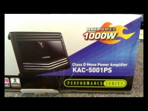 Kenwood KAC-5001PS Review