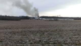 Turkey Farm Fire, Garrettsville, OH (4/2/2014)