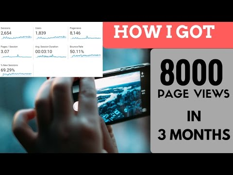 FREE Organic Traffic for website   100% working tricks Proof 2017