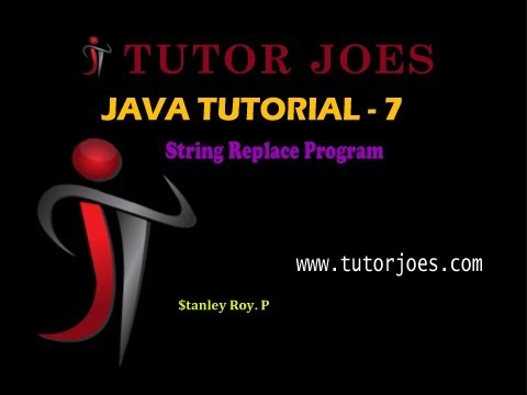 String Replace in java