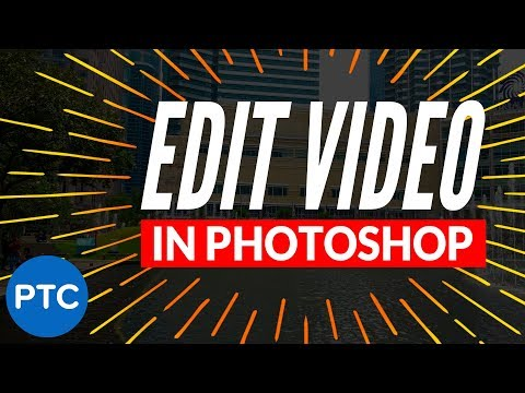 Video Color Adjustments in Camera Raw - How To EDIT VIDEO in Photoshop