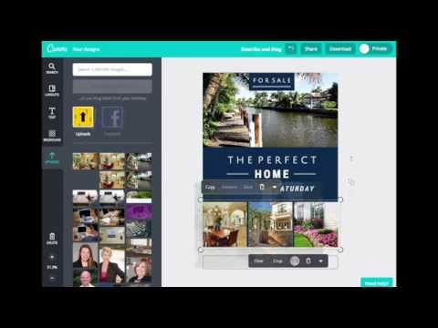 How to create real estate flyers with Canva