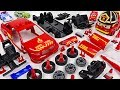 Dinosaur Set Fire To Store Robocar Poli Make A Fire Chief Car With Model Assembly Kit DuDuPopTOY