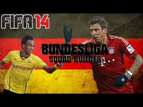 FIFA 14 Ultimate Team - Squad Builder - Bundesliga (German League)