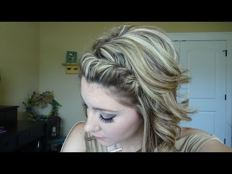 EASY 2 strand braid that ANYONE can do!