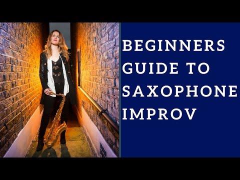 Sax Improvisation/improv (Video 1) BEGINNERS GUIDE. 🎶 Saxophone lesson/tutorial.
