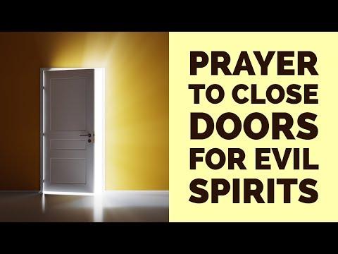 PRAYER TO CLOSE DOORS FOR EVIL SPIRITS (POWERFUL) ✅