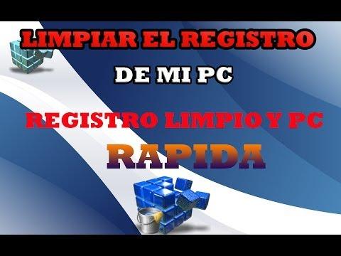 limpiar el registro de mi pc facil y rapido 2014