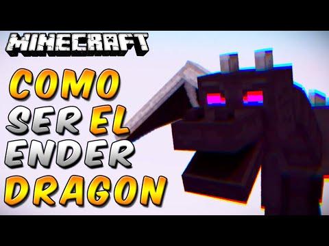 Minecraft: Como ser el ENDER DRAGON en Minecraft - Rabahrex