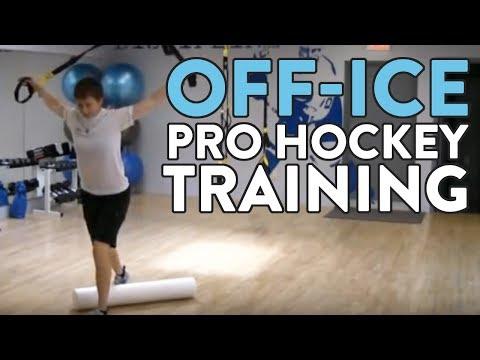 Off-Ice Pro Hockey Training Workout