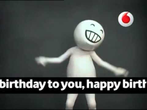 Happy Birthday - Vodafone zoo zoo