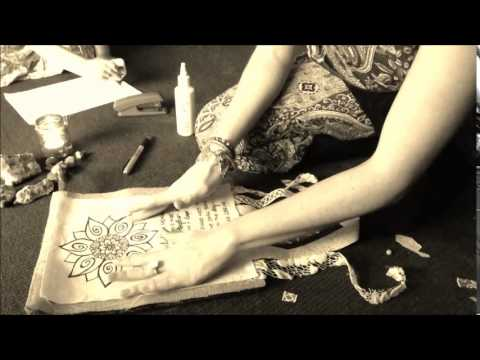August 19th - Day of Hope - Prayer Flag Making Time Lapse
