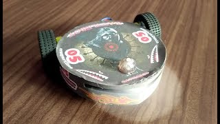 how to make a rc battlebot using CD DVD