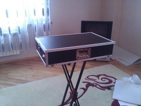 how to build a dj flight case