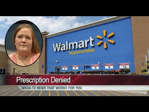 Walmart Pharmacist Refuses to Fill Prescription for Miscarriage Patient
