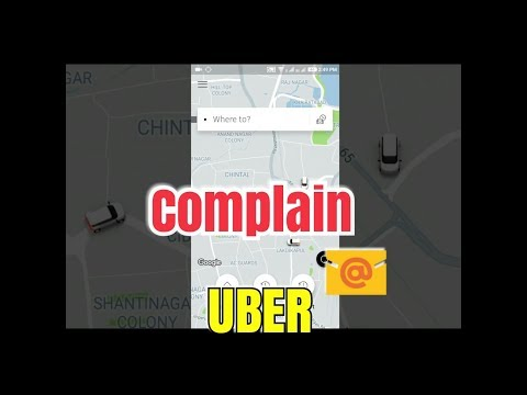 How to complain UBER customer care if you were over-charged for a Trip